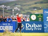 Matthieu Pavon Au Dubai Duty Free Irish Open